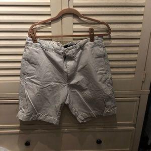 Gap men's flat front shorts- 35W
